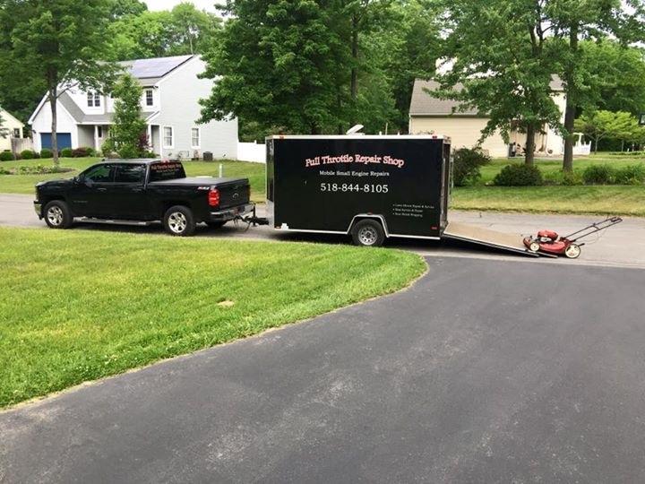 full throttle repair shop home - Small Engine Repair Albany Ny